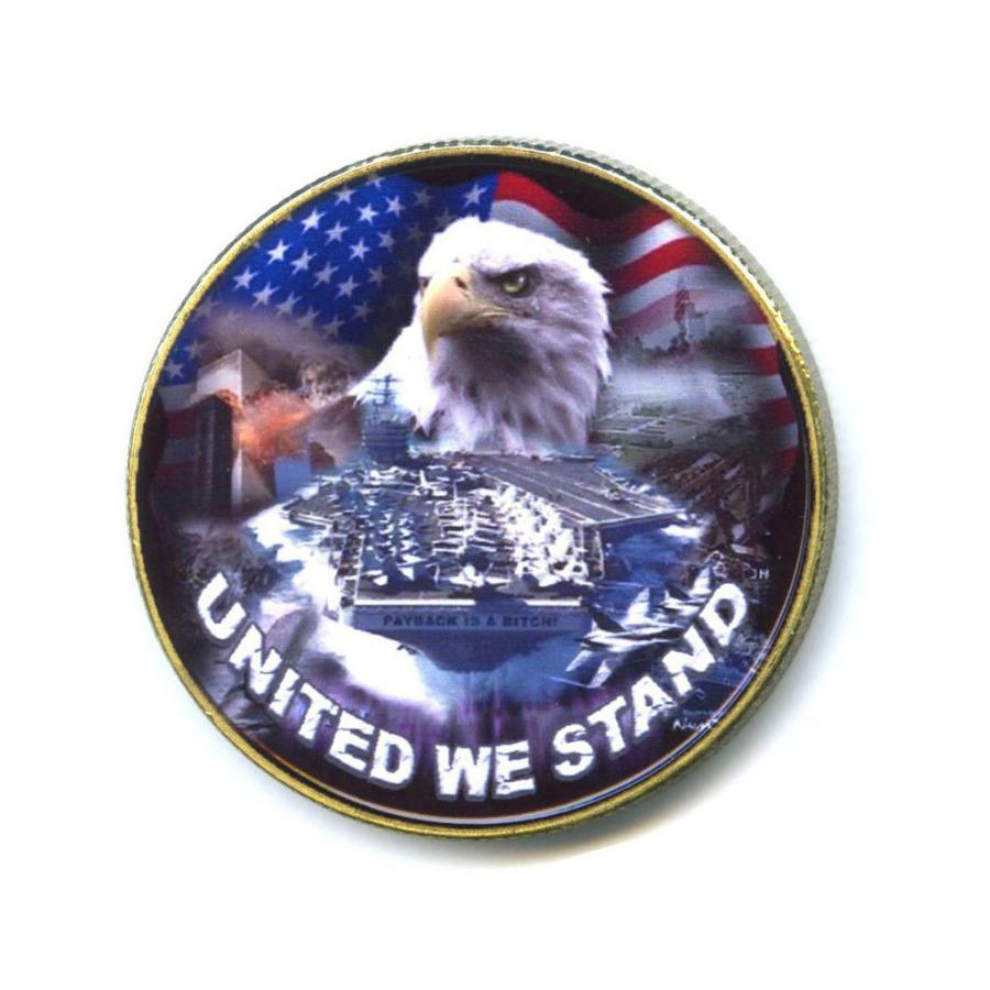 Жетон «United WeStand» (вцвете, под золото)