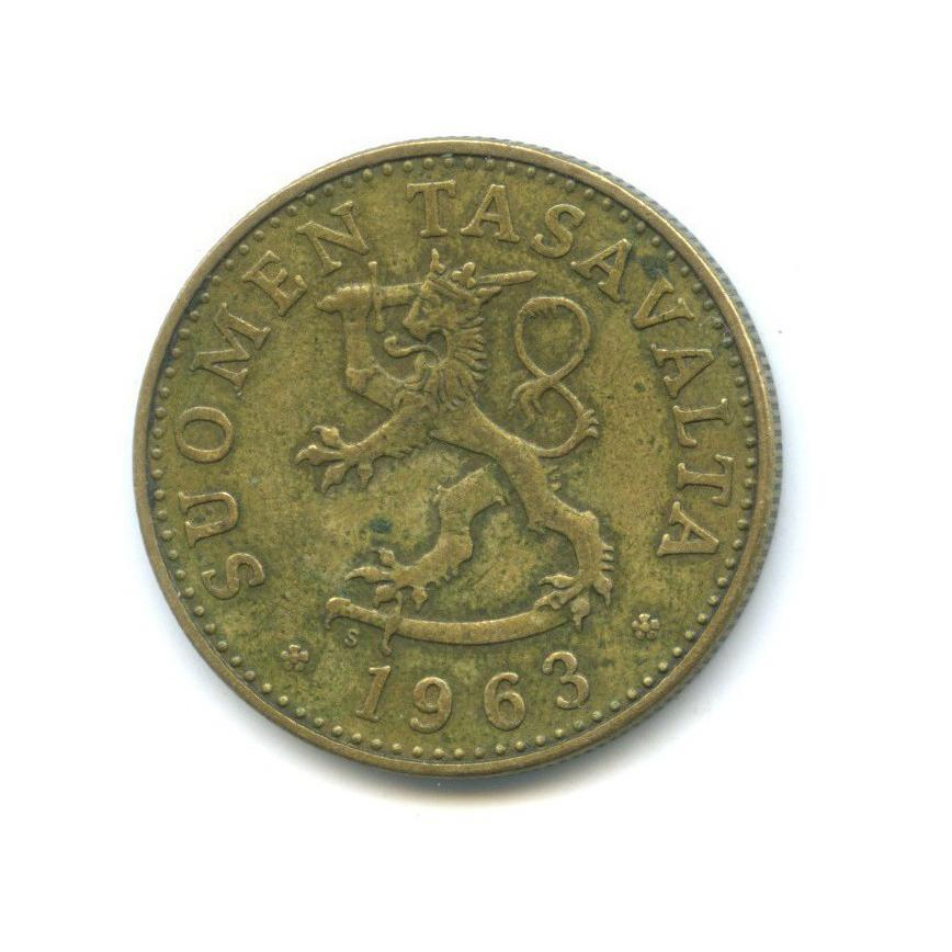 50 пенни 1963 года (Финляндия)