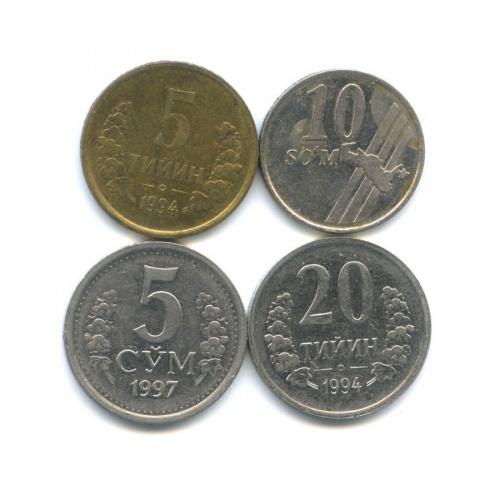 Набор монет (Узбекистан)