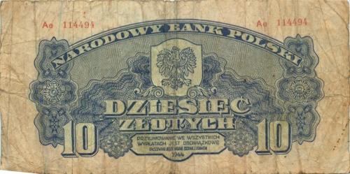10 злотых 1944 года (Польша)
