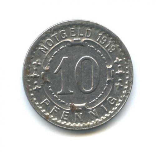10 пфеннигов, Виттен (нотгельд) 1919 года (Германия)