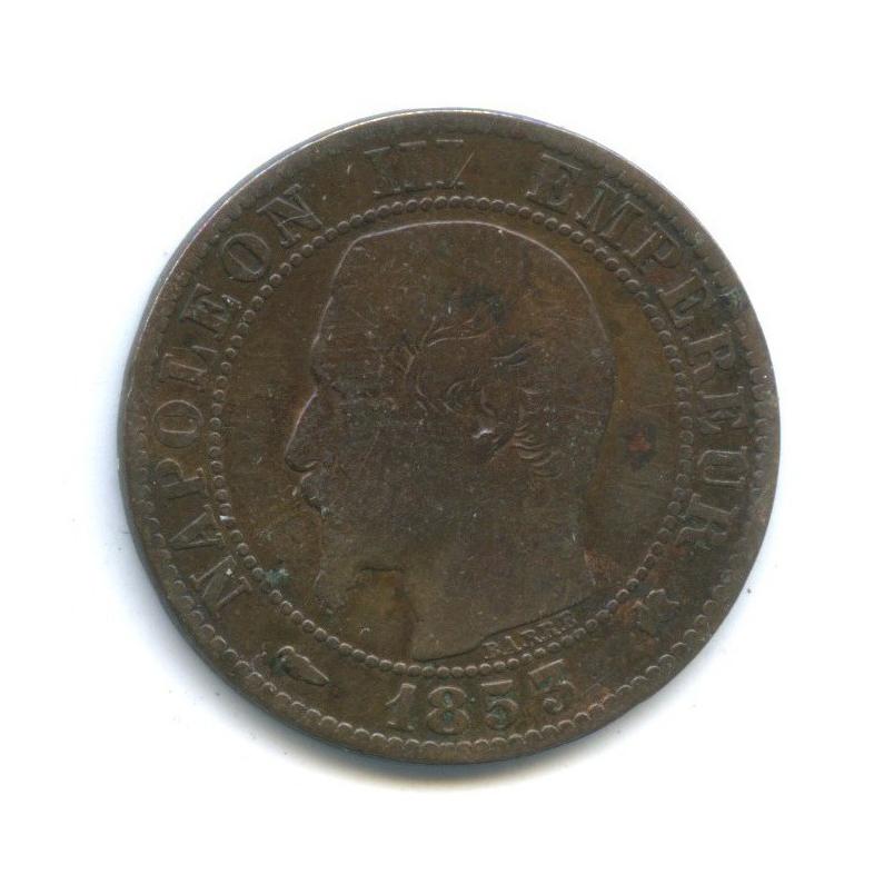 5 сантимов, Наполеон III 1853 года (Франция)