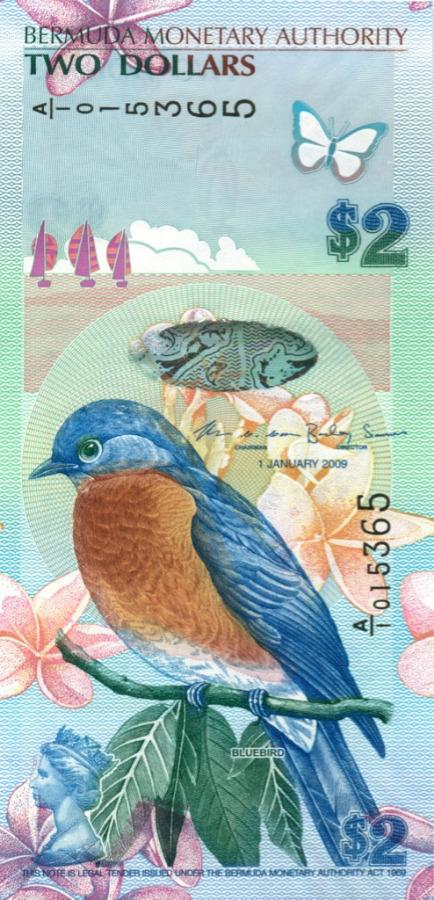 2 доллара 2009 года (Бермуды)