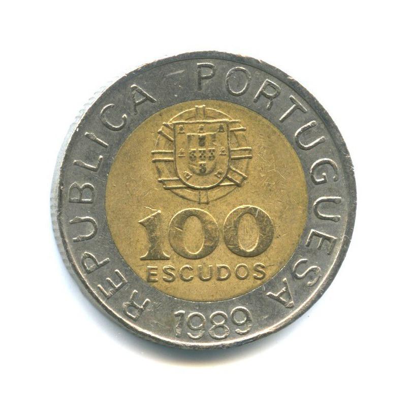 100 эскудо 1989 года (Португалия)