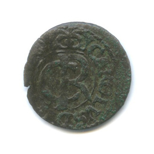 1 солид - Карл XI, Шведская Ливония 1663 года (Швеция)