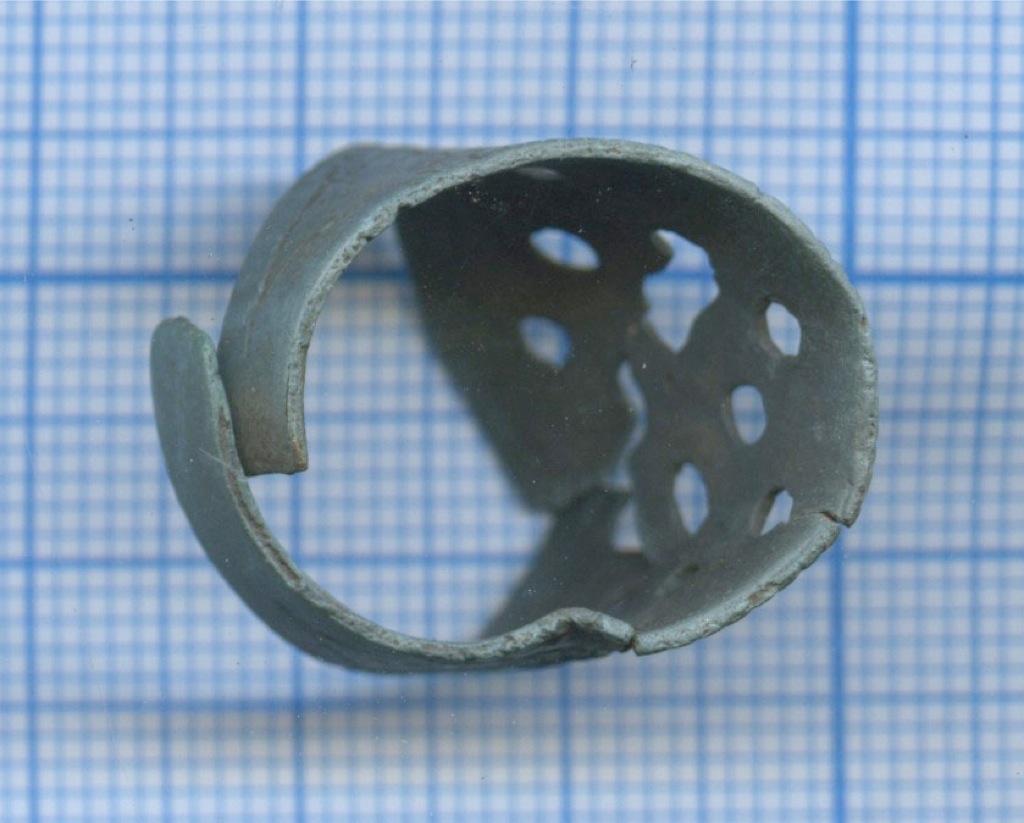 Перстень решетчатый