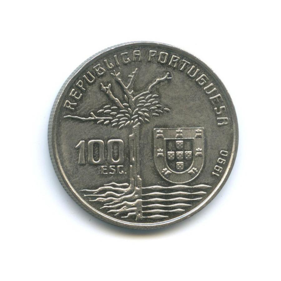 100 эскудо — 100 лет содня смерти Камилу Каштелу Бранку 1990 года (Португалия)