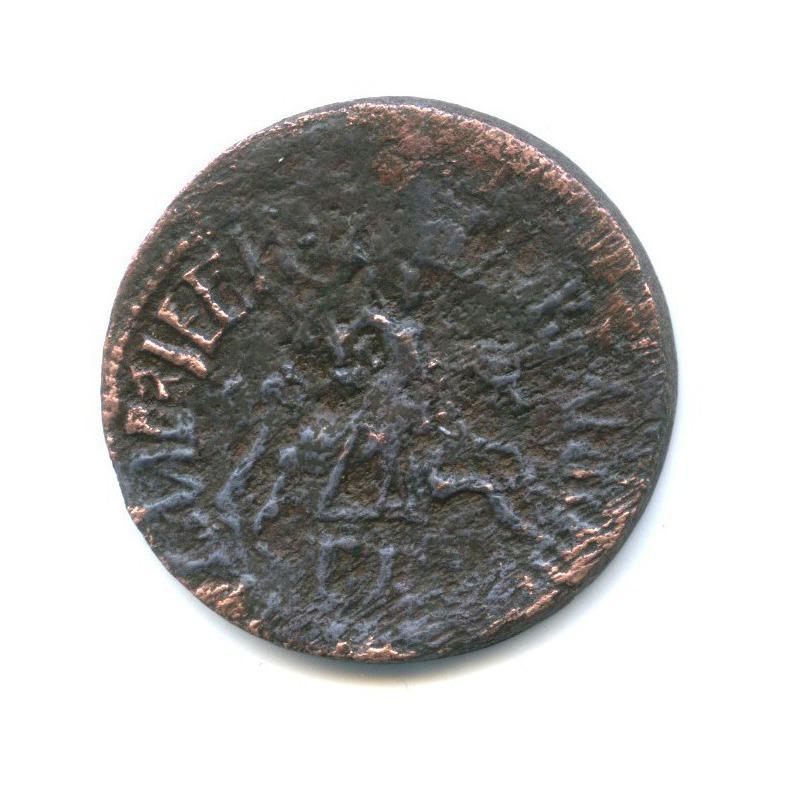 1 копейка, Петр I Великий 1712 года БК (Российская Империя)