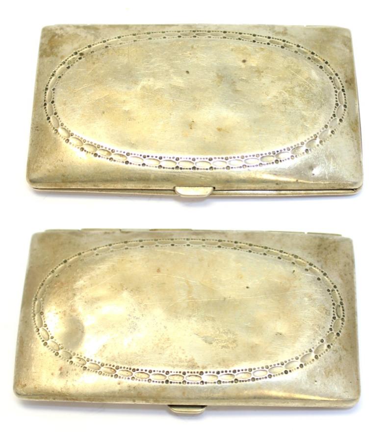 Портсигар (клеймо ALPACCA SILBER), 8×4,5 см
