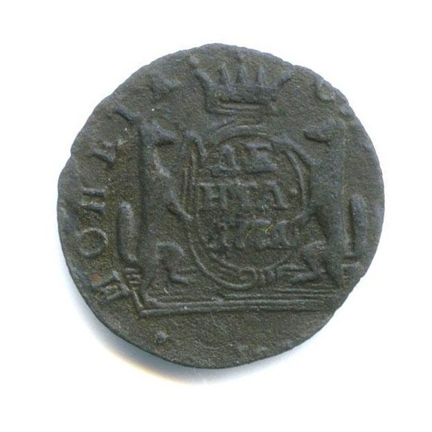 Денга (1/2 копейки) 1771 года КМ (Российская Империя)