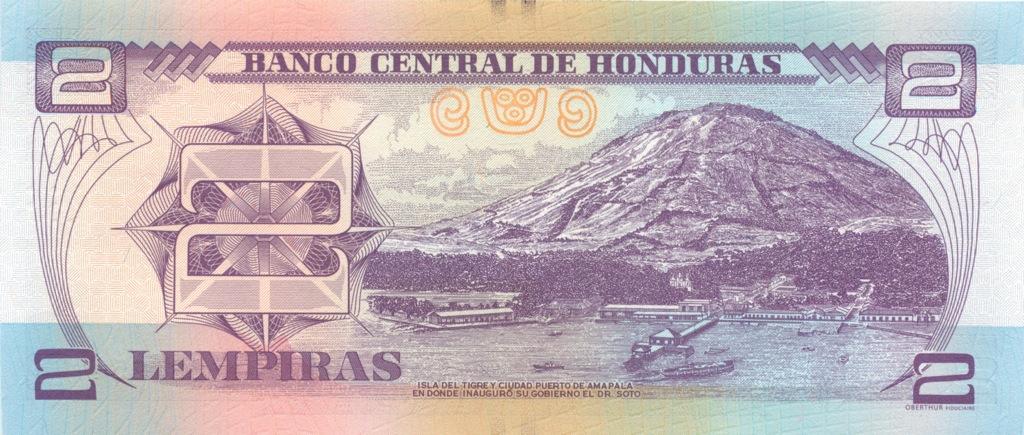 2 лемпира (Гондурас) 2012 года