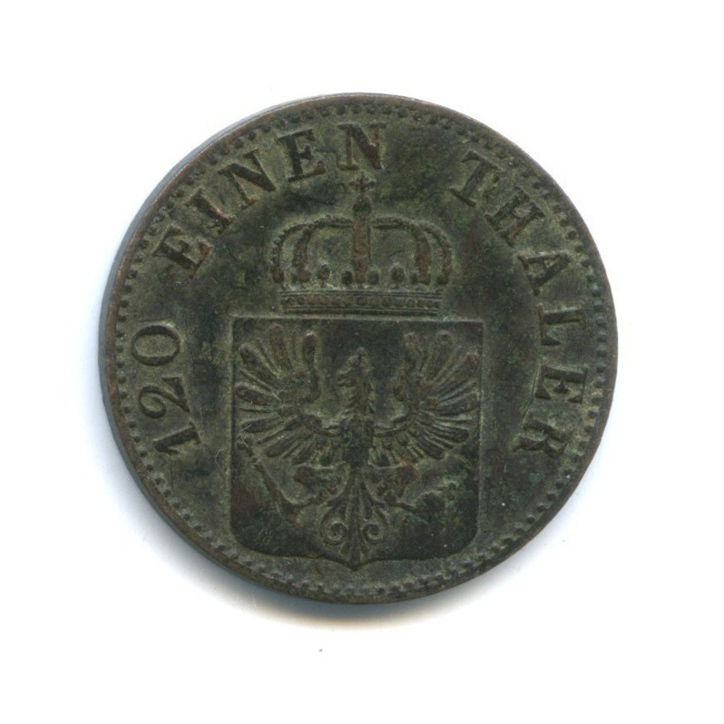 3 пфеннинга, Пруссия 1862 года А