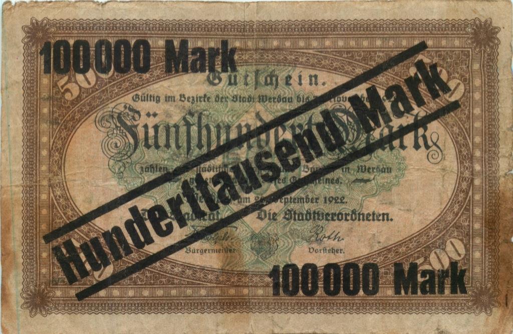100 тысяч марок 1922 года (Германия)