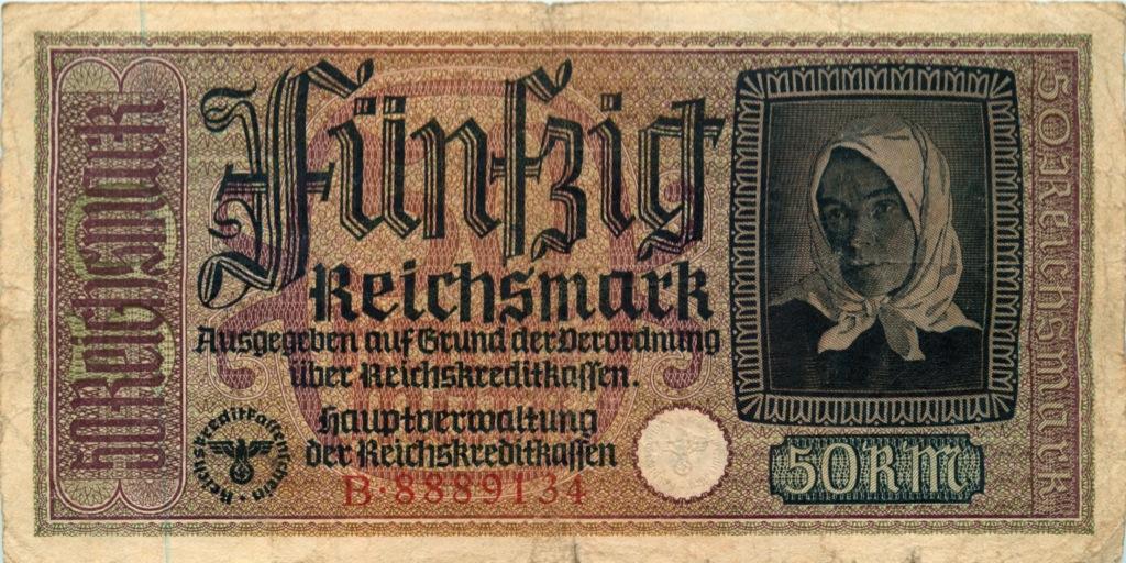 50 рейхсмарок (Германия (Третий рейх))