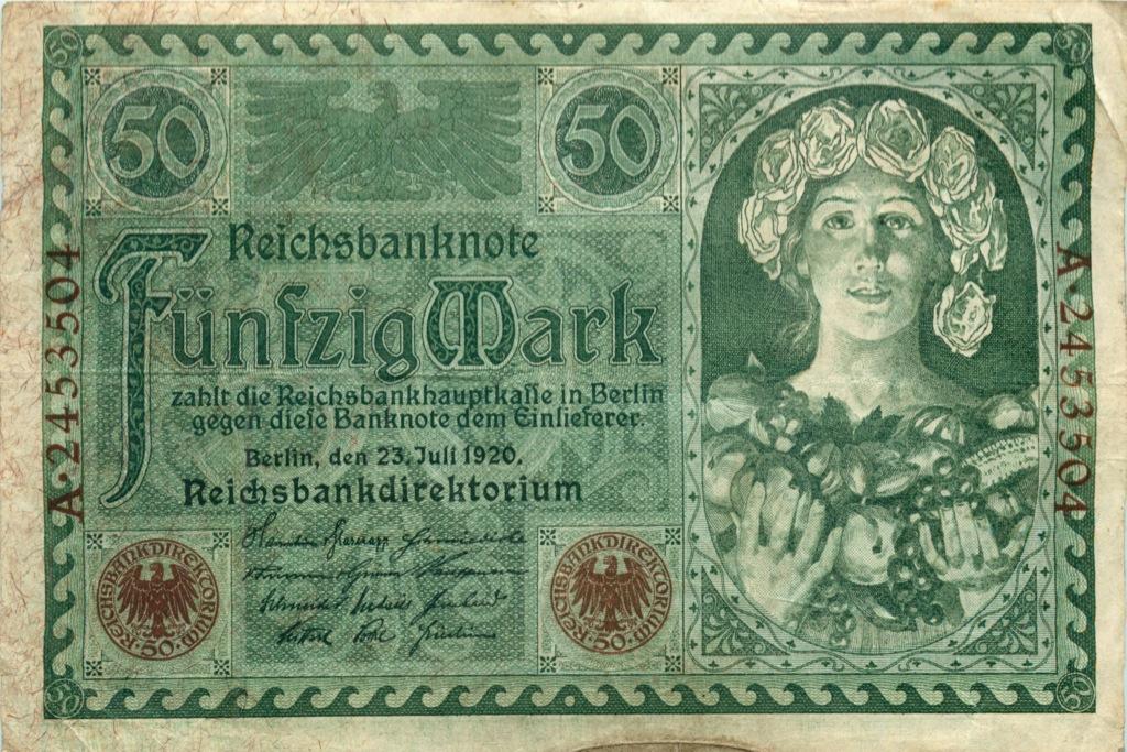 50 марок 1920 года (Германия)