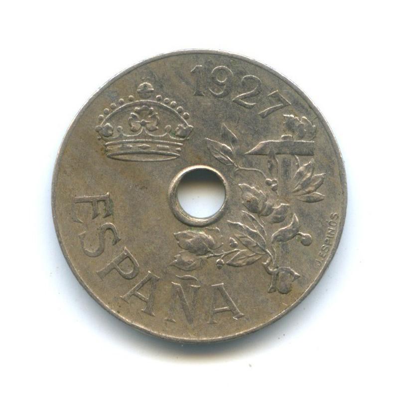25 сентимо 1927 года (Испания)