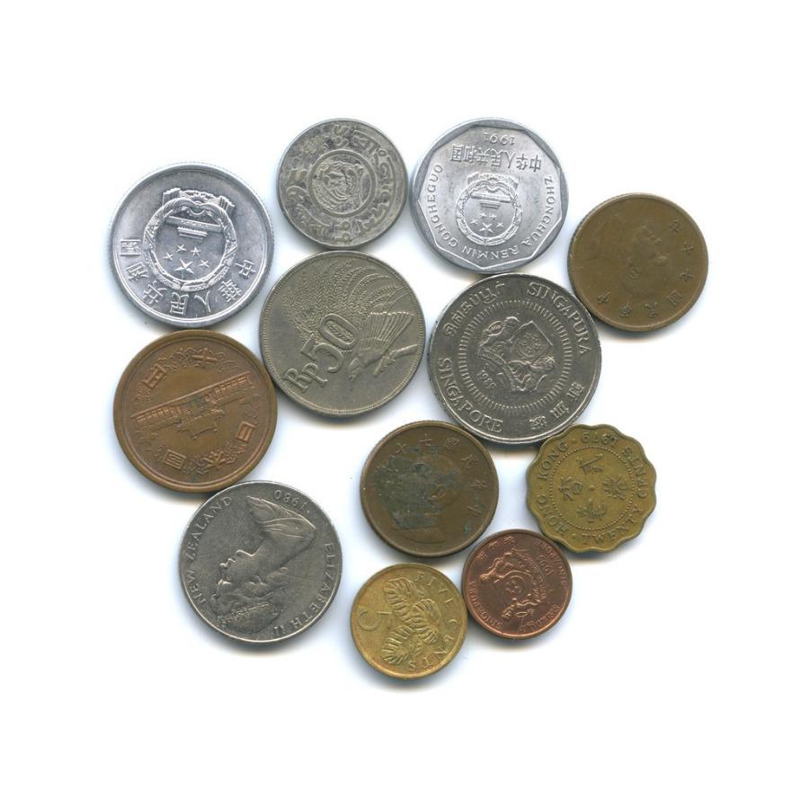 Набор монет, разные страны