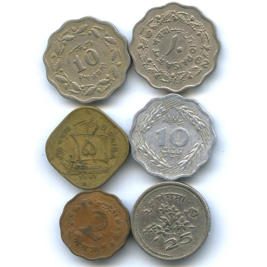 Набор монет, Пакистан