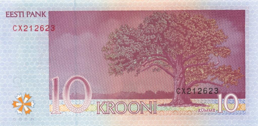 10 крон 2007 года (Эстония)