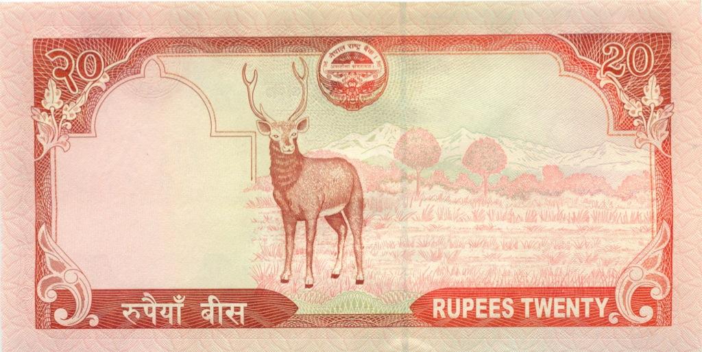 20 рупий (Непал) 2008 года