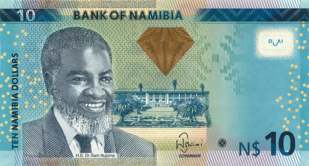 10 долларов (Намибия) 2012 года