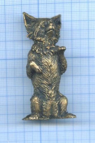 Фигурка «Собака» (бронза, литье)
