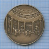 Медаль настольная «200 лет содня открытия Российской Национальной Библиотеки» 2014 года (Россия)