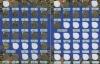 Набор монет 10 рублей - Города воинской славы (вальбоме) 2011-2014 (Россия)