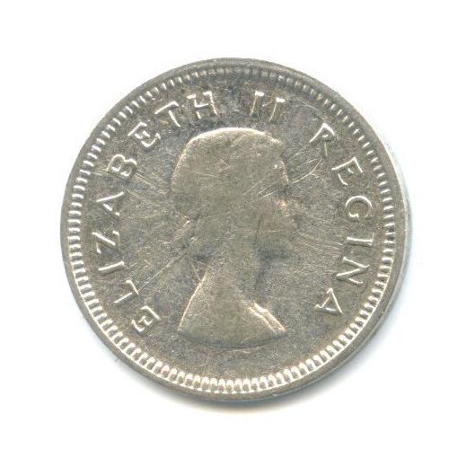 3 пенса 1958 года (ЮАР)