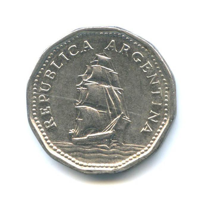 5 песо 1963 года (Аргентина)