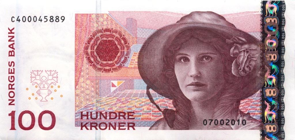 100 крон 1995 года (Норвегия)