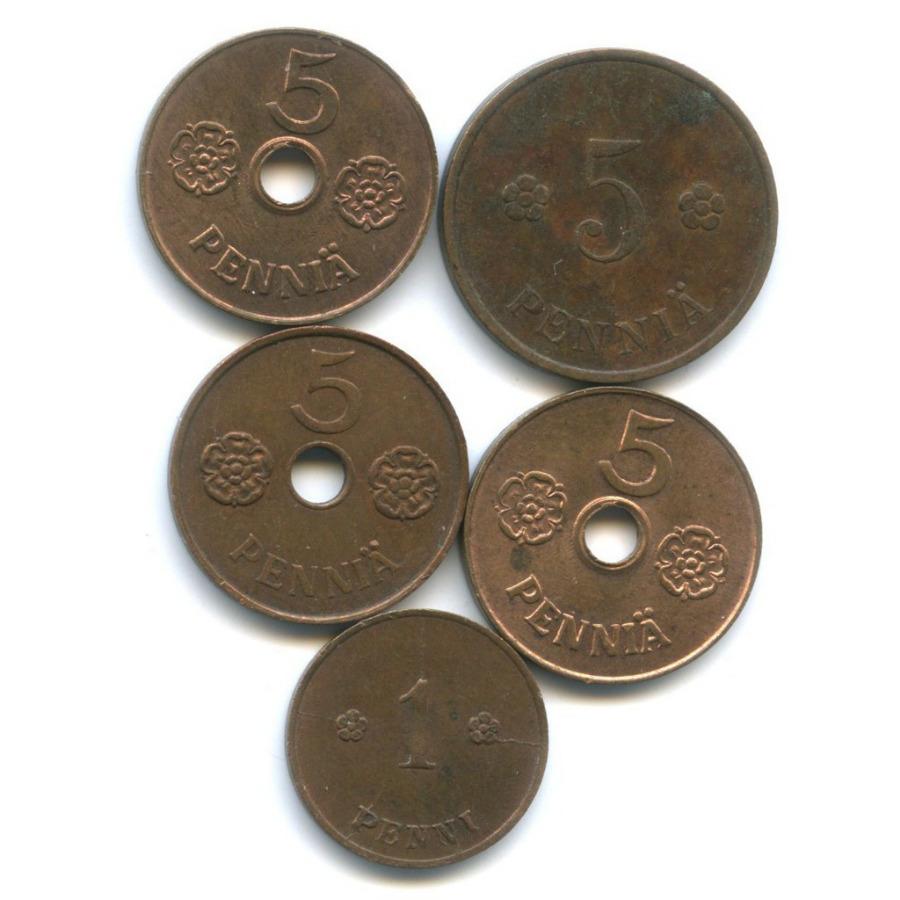 Набор монет (Финляндия)