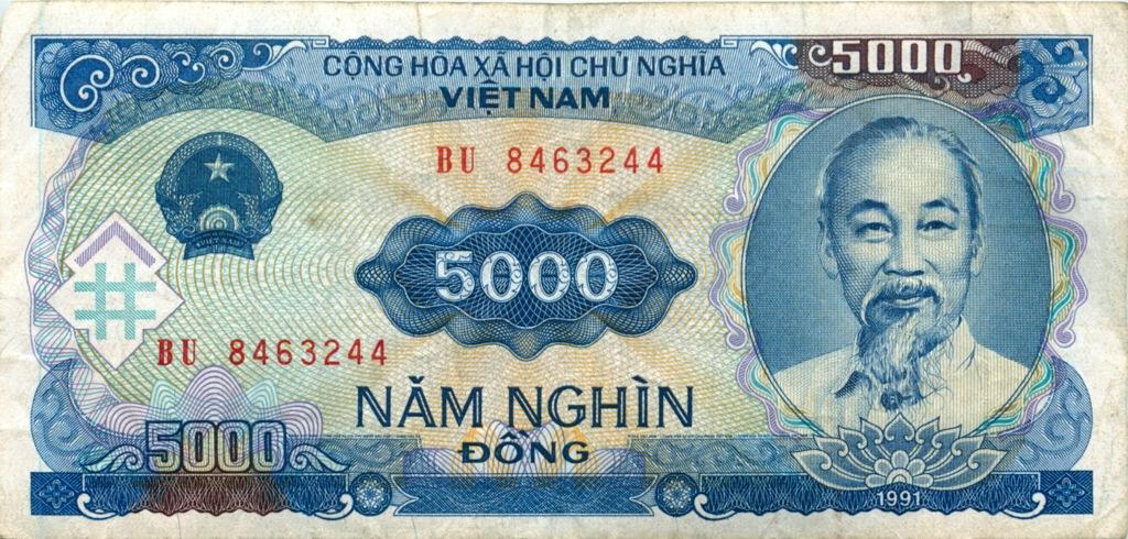 5000 донгов 1991 года (Вьетнам)