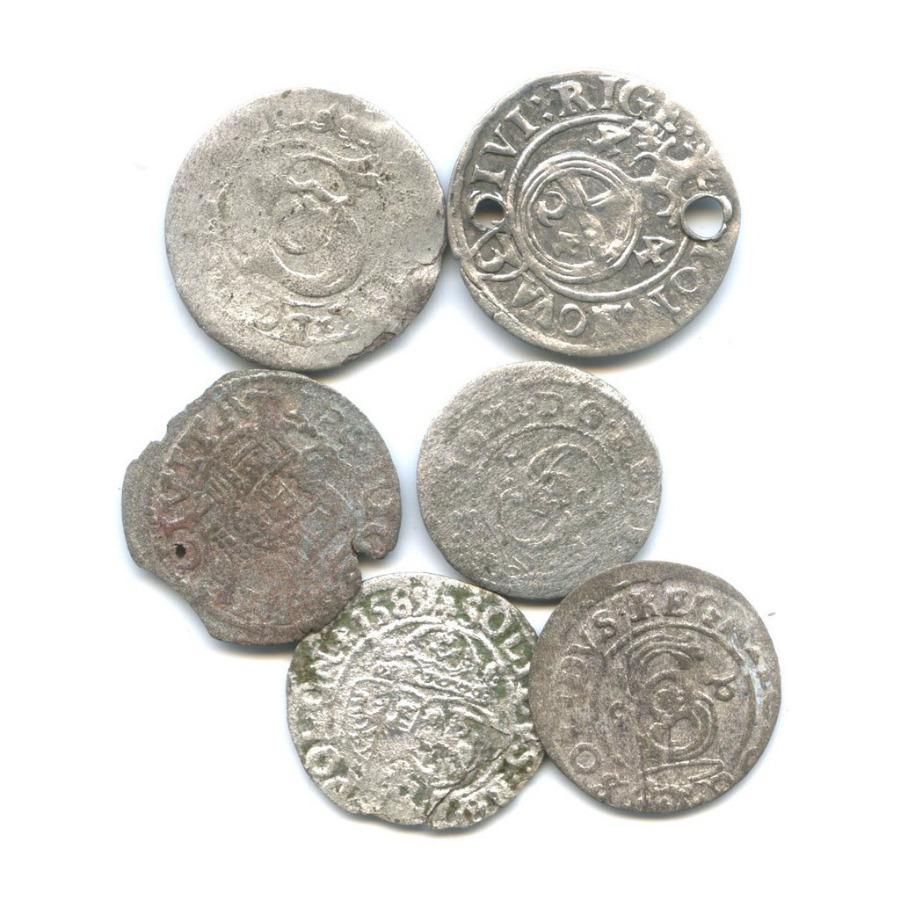 Набор средневековых монет