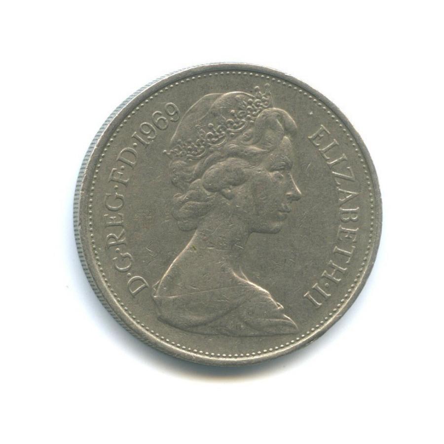 10 новых пенсов 1969 года (Великобритания)