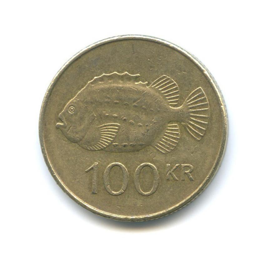 100 крон 2001 года (Исландия)