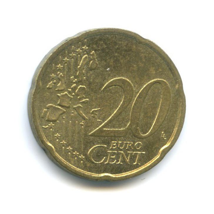 20 центов 2002 года J (Германия)