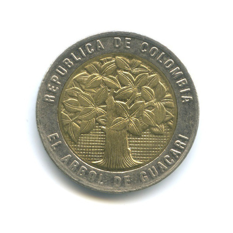 500 песо 2008 года (Колумбия)