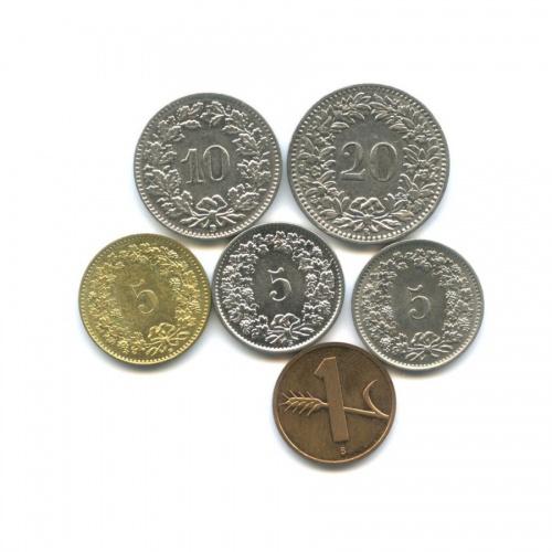 Набор монет (Швейцария)