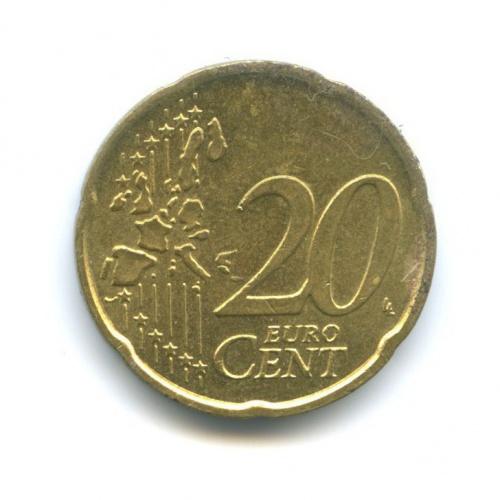 20 центов 2002 года (Италия)