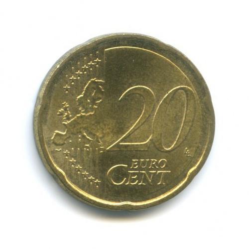 20 центов 2007 года J (Германия)