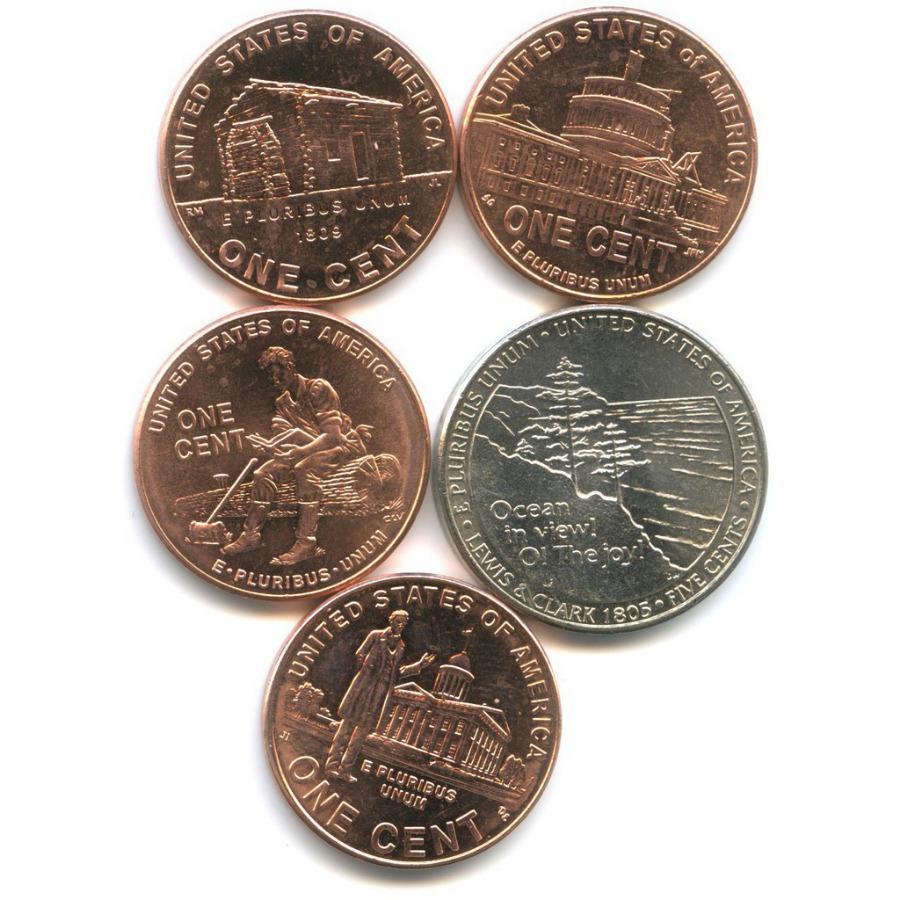 Набор юбилейных монет 2005, 2009 (США)