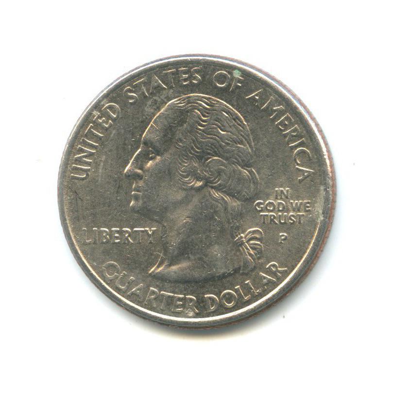 25 центов (квотер) — Квотер штата Теннесси 2002 года P (США)