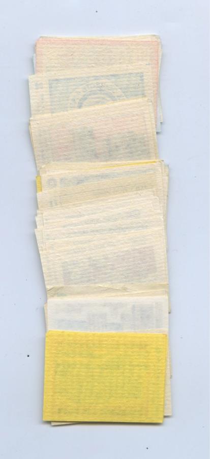 Набор спичечных этикеток (63 шт.) (СССР)