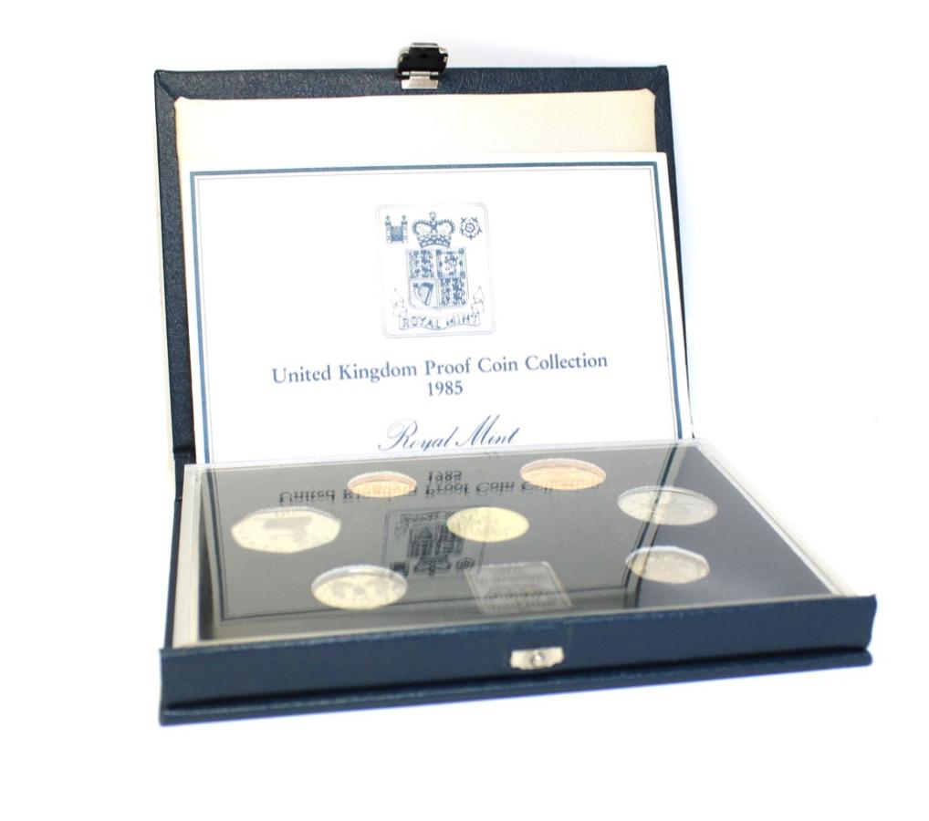 Набор монет (вфутляре) 1985 года (Великобритания)