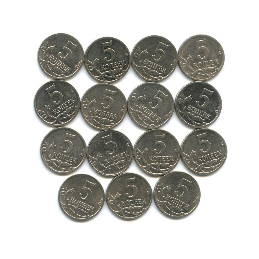 Набор монет 5 копеек 2009 года (Россия)