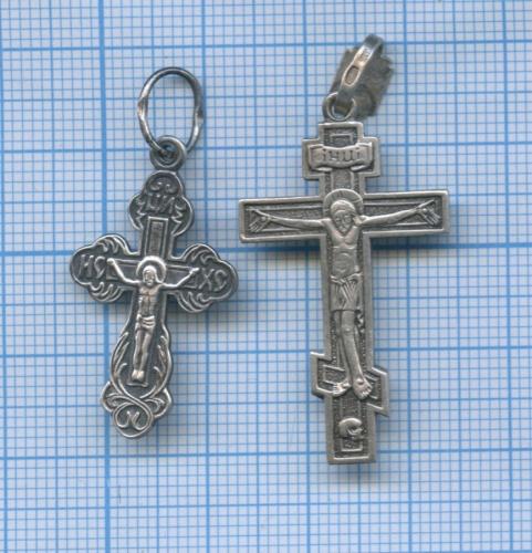 Набор нательных крестиков (серебро 925 пробы)