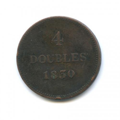 4 дубля, Гернси 1830 года