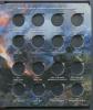 Альбом для монет «Памятные десятирублевые монеты России. Серия: Города воинской славы» (64 ячейки) (Россия)