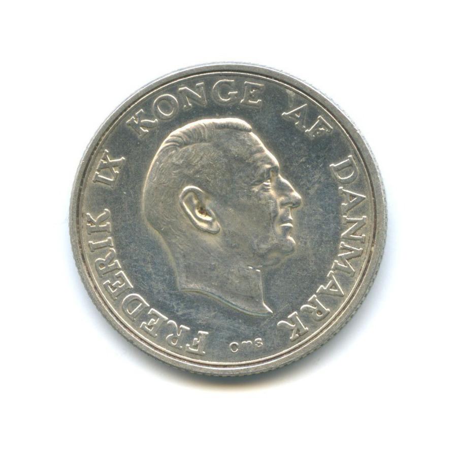2 кроны — 18 лет Принцессе Маргрете 1958 года (Дания)